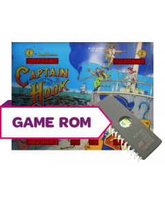 Captain Hook CPU Game Rom A