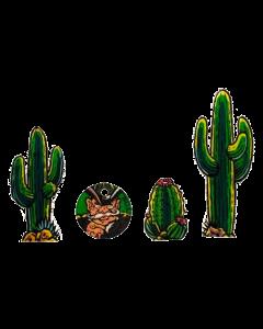 Cactus Canyon Plastic Key Fobs