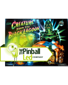 Creature from the Black Lagoon UltiFlux Playfield LED Set