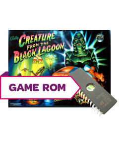 Creature from the Black Lagoon CPU Game Rom L4