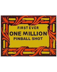 """Comet """"One Million"""" Shot Decal"""