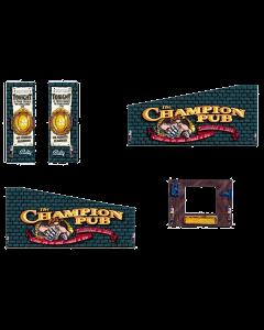 Champion Pub Cabinet Decals (Next Gen)
