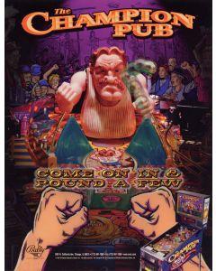 Champion Pub Flyer