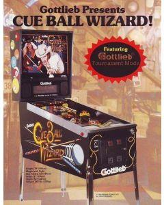 Cue Ball Wizard Flyer