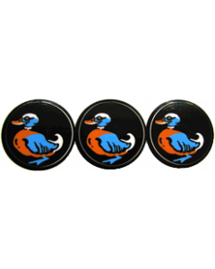 Cyclone Duck Target Decals Laminated