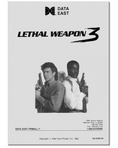 Lethal Weapon 3 Manual