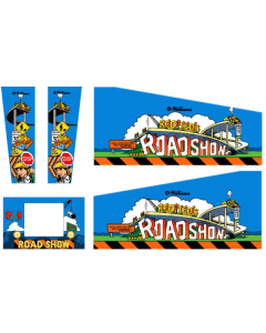 Road Show Cabinet Decals