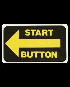 Taxi Start Button Decal