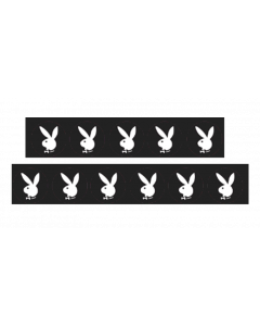 Playboy 35th Anniversary Target Decals