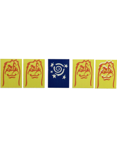 Baby Pac-Man Target Decals