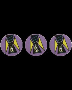 Batman Forever Bumpercap Decals
