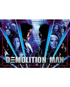 Demolition Man Alternate Translite