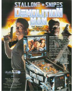 Demolition Man Flyer