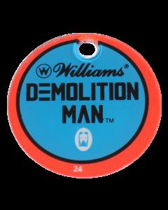 Demolition Man Promo Plastic