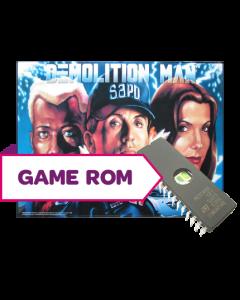 Demolition Man CPU Game Rom