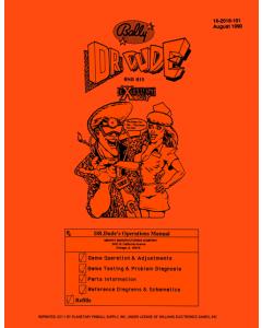 Dr Dude Manual