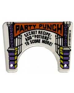 Elvira and the Party Monsters Party Punch Plastic