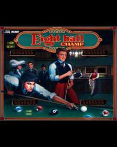 Eight Ball Champ CPU Game Rom