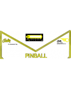 Eight Ball Deluxe Apron Decal Set