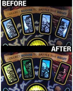 Iron Maiden Eddie Cards Color Bracket