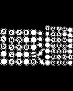 Eight Ball Deluxe Insert Decals