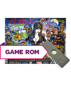 Elvira and the Party Monsters CPU Game Rom