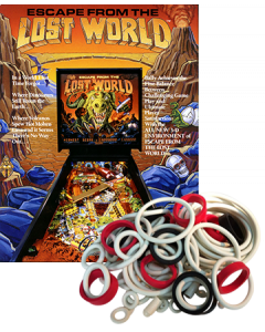Escape from the Lost World Rubberset