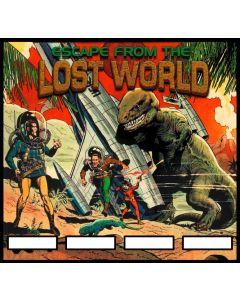 Escape from the Lost World Alternate Translite