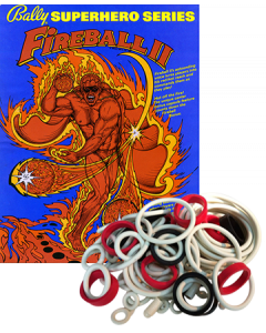 Fireball II Rubberset