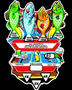 Fish Tales Tackle Box Decal
