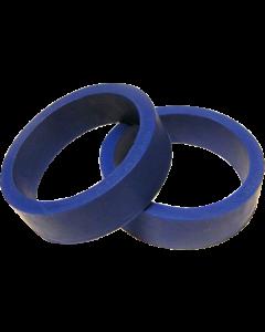 """Flipper Rubber 1 1/2"""" x 1/2"""" Blue"""