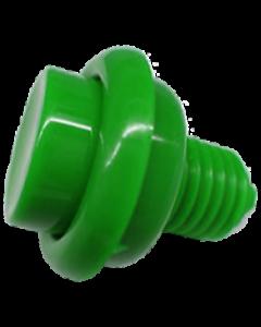 Flipper Button Green