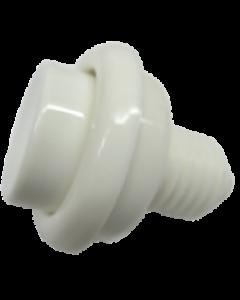 Flipper Button White