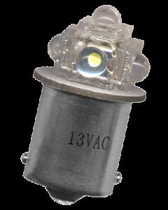 #89 Flasher 5 x Flux LED Round Sides Blue