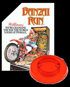 Banzai Run bumpercap set