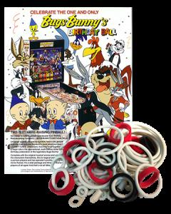 Bugs Bunny's Birthday Ball rubberset