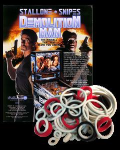 Demolition Man rubberset