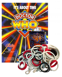 Dr Who rubberset