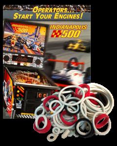Indianapolis 500 rubberset
