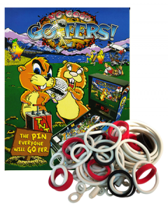 No Good Gofers rubberset
