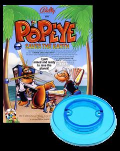 Popeye saves the Earth bumpercap set