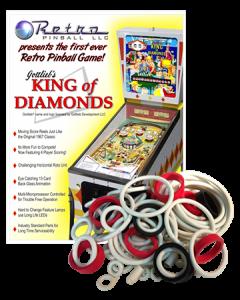 King of Diamonds rubberset