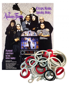 Addams Family & Gold rubberset