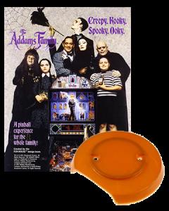 Addams Family Gold bumpercap set
