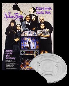 Addams Family bumpercap set
