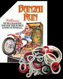 Banzai Run Rubberset