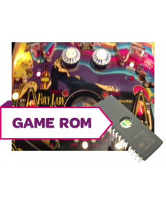 Foxy Lady CPU Game Rom B