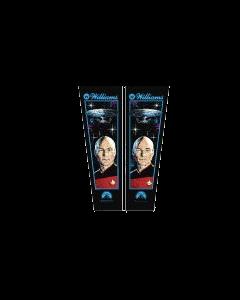 Star Trek TNG Backbox Decals (Silkscreened)