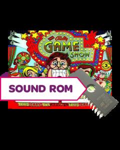 The Bally Game Show Sound Rom U19