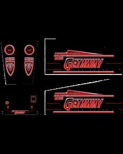 The Getaway Cabinet Decals (Next Gen)